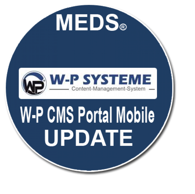 W-P CMS Portal Mobile - Update 1.10 vom 06.03.2020